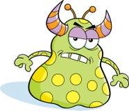 Verärgertes Monster der Karikatur Lizenzfreies Stockbild