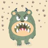 Verärgertes nettes Monster Lizenzfreie Stockbilder