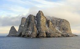 Ver Eiland in het Hoge Noordpoolgebied Royalty-vrije Stock Foto's