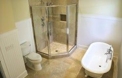 över huvudet sikt för badrum Royaltyfri Bild
