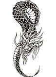 Ver oriental de dragon Photo stock
