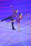Vera Bazarova and Yuri Larionov Royalty Free Stock Photos