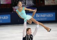 Vera BAZAROVA / Yuri LARIONOV (RUS) Royalty Free Stock Photo