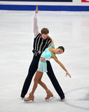 Vera Bazarova and Yuri Larionov of Russia Stock Photo