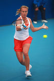 Vera Dushevina in action at the 2010 China Open stock image