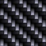 Vera fibra del carbonio Fotografia Stock