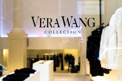 Vera Wang Store NYC Royalty Free Stock Photos