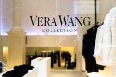 Vera Wang Store NYC. NEW YORK CITY - JANUARY 9, 2016:  View of designer Vera Wang retail store in Soho New York City Royalty Free Stock Photos