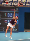 Vera Zvonareva of Russia at the 2010 China Open stock photography