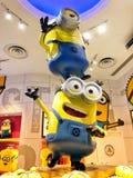 Verachtelijk me Minions Minion Tim Yellow Creature Royalty-vrije Stock Afbeelding