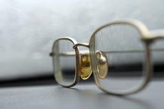 Veraltete Gläser Stockbild