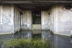 Veralteter Kriegs-Bunker Lizenzfreies Stockbild