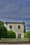 Veraltetes Schienen-Gebäude außerhalb Cividale Del Friuli Lizenzfreie Stockfotos
