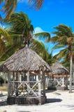 Veranda at the hotel. Sol Cayo Guillermo. Cuba Stock Image
