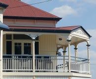 Veranda på Queenslander Arkivfoton
