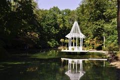 Veranda Water Reflection Royalty Free Stock Photos