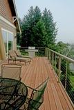 verandah берега озера Стоковое Фото