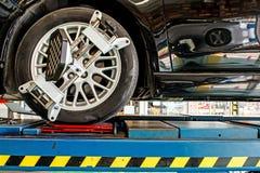 Veranderend autowiel Royalty-vrije Stock Foto