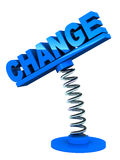 Verandering royalty-vrije illustratie