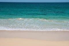 Verandinha beach Praia de Verandinha  in Boavista Cape Verde - Royalty Free Stock Image
