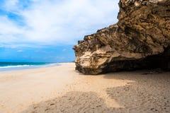 Verandinha beach Praia de Verandinha  in Boavista Cape Verde Royalty Free Stock Image