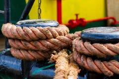 Verankerungs- Seil Stockfotografie