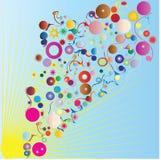 Verano abstracto colorido del fondo-color Fotografía de archivo libre de regalías