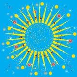 Verano abstracto colorido del fondo-color Foto de archivo