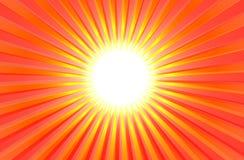 Verano brillante caliente Sun Stock de ilustración