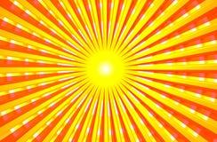 Verano brillante caliente Sun Ilustración del Vector