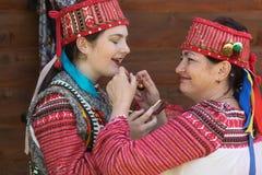 Verano cárpato multicultural de Polonynsky del festival imagenes de archivo