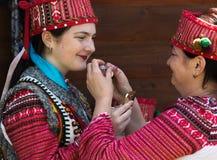 Verano cárpato multicultural de Polonynsky del festival imágenes de archivo libres de regalías