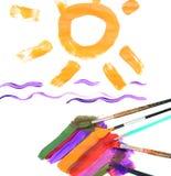 Verano colorido Foto de archivo