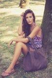 Verano de la mujer de la moda Imágenes de archivo libres de regalías