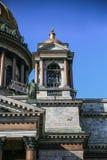 Verano de la opinión de la catedral del ` s del St Isaac foto de archivo