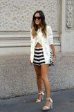 Verano 2015 de la primavera de la semana de la moda de Milán Imagen de archivo