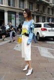 verano 2015 de la primavera de la semana de la moda de Milán del grendene del lise Fotos de archivo