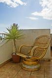Verano de la silla foto de archivo libre de regalías