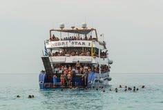 Verano de las islas jónicas Foto de archivo