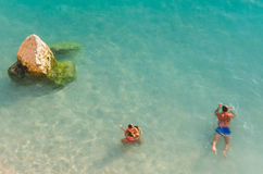 Verano de las islas jónicas Imágenes de archivo libres de regalías
