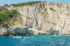 Verano de las islas jónicas Foto de archivo libre de regalías
