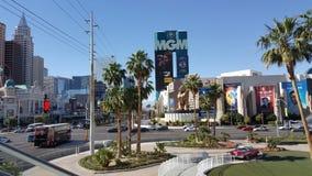 Verano de los hoteles de Streep Las Vegas foto de archivo libre de regalías