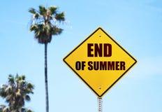 Verano del adiós Foto de archivo libre de regalías