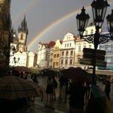 Verano del arco iris Imagenes de archivo