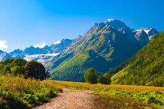 Verano del día de la montaña Foto de archivo libre de regalías