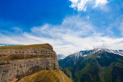 Verano del día de la montaña imagen de archivo
