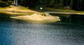 Verano del lago island Foto de archivo