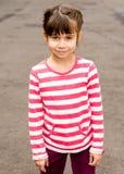 Verano del retrato de la niña al aire libre Fotos de archivo libres de regalías