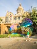 Verano en Barcelona Imagen de archivo libre de regalías