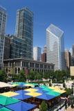 Verano en Chicago fotos de archivo libres de regalías